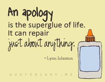 Apologize - Poem by Edward Ibeh