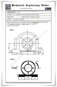 Autocad Assignment Drawings 4