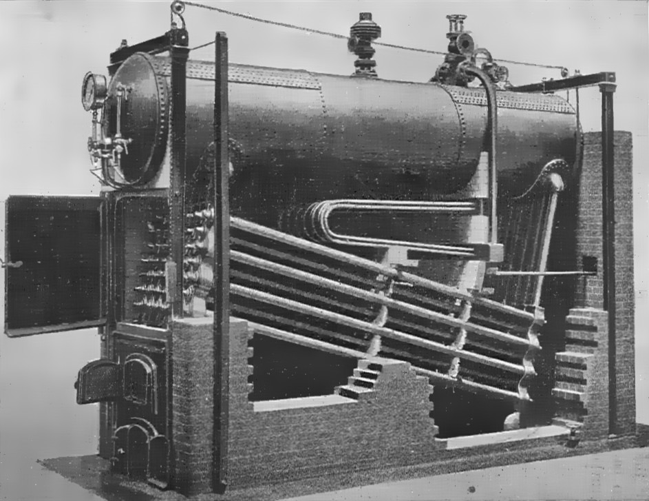 Water Tube Boiler ~ Babcock and wilcox boiler introduction construction